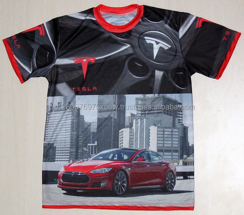 Car Graphic Design Sublimation Quality Men Shirts