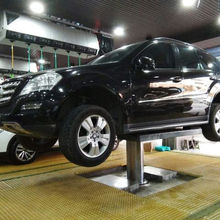Car washing Single Post  Hydraulic Lift