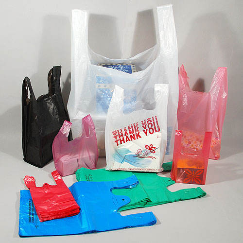 Colorful T-shirt Plastic Bags all Type, T-shirt Thank You Bag