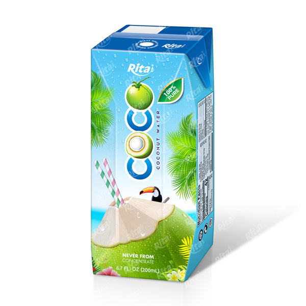 Supplier Beverage 100% natural Coconut Water