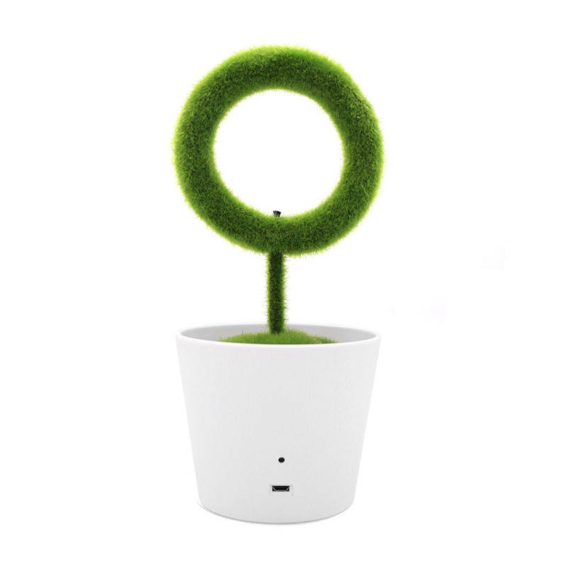 Unique Plant Air Cleaner Innovative Home Decor Office USB Gadgets