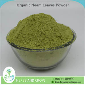 USDA Organic Certified Neem Leaves Powder /Azadirachta Indica