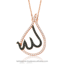 925 Sterling Silver Islamic Women Necklace