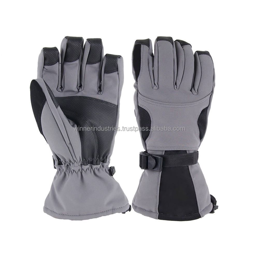 Snowboard Waterproof Winter Softshell Ski Gloves