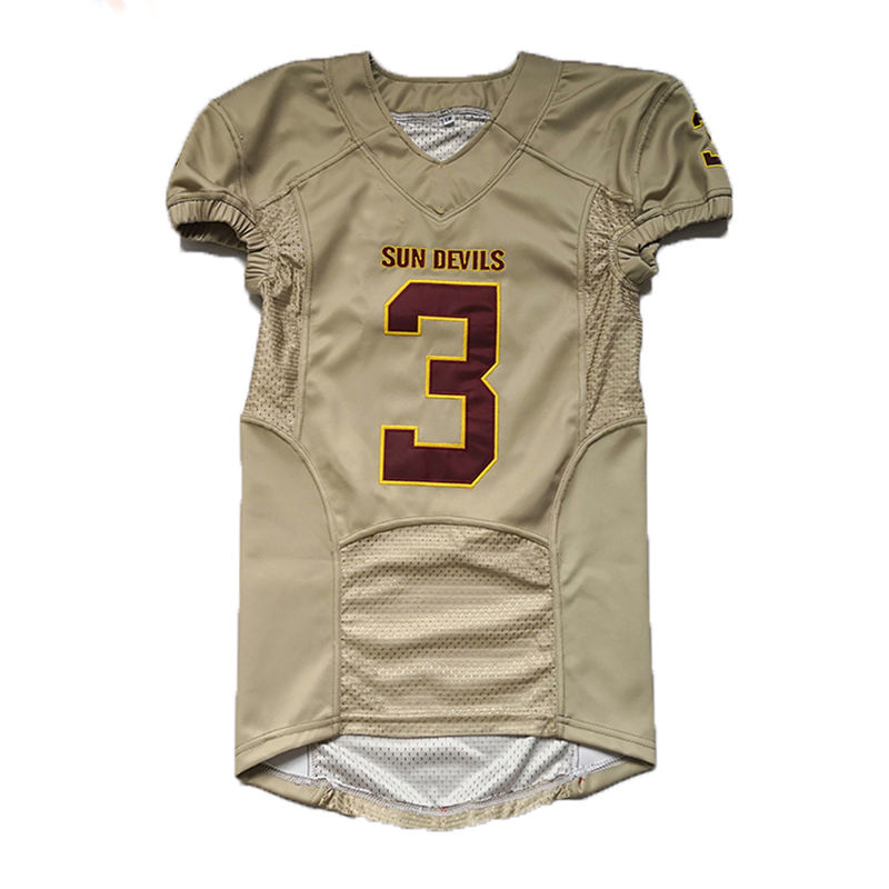 Markdown sale sublimated classical American football jersey uniforms with oem service