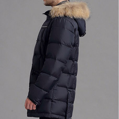 Highly breathable waterproof custom Parka Jacket for men winter custom designed perfect to face north extreme weather
