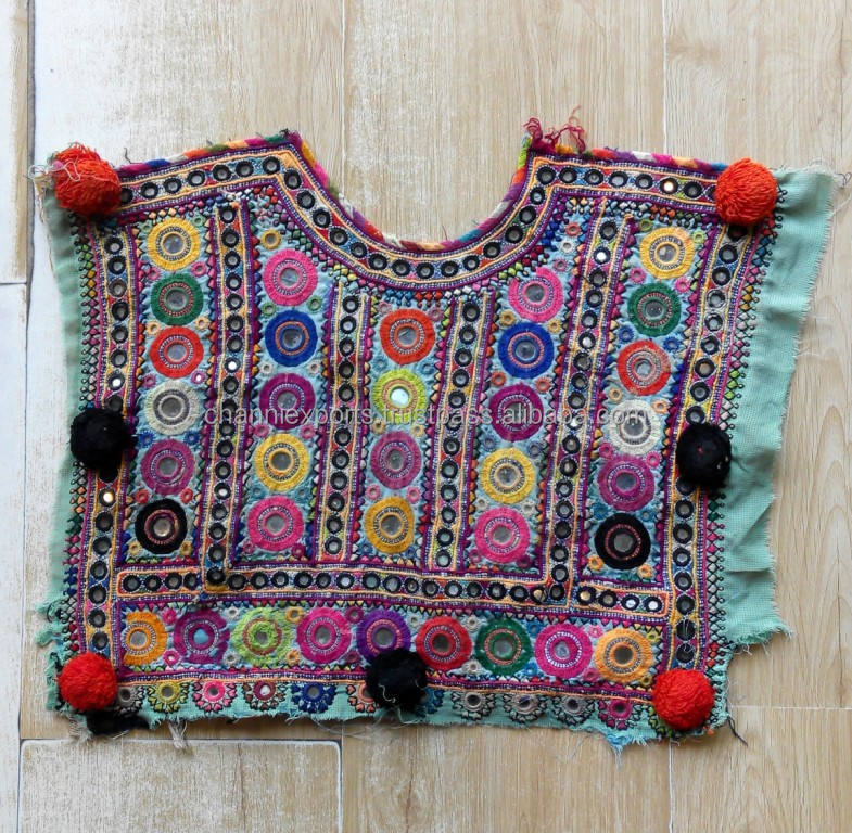 Indian hand embroidery multipurpose ethnic vintage banjara patches