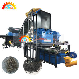 Yuxi Automatic Used Rubber Tyre Recycle Machine Tyre Recycling Plant Waste Tire Recycling Machine