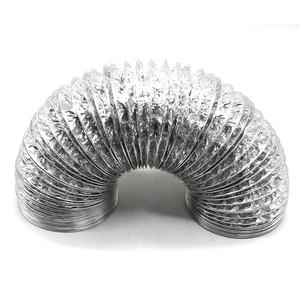 Fire Resistant Air Ducting Dryer Vent Hose Length 2m Aluminum Foil Flexible Duct Hose For Hvac Ventilation