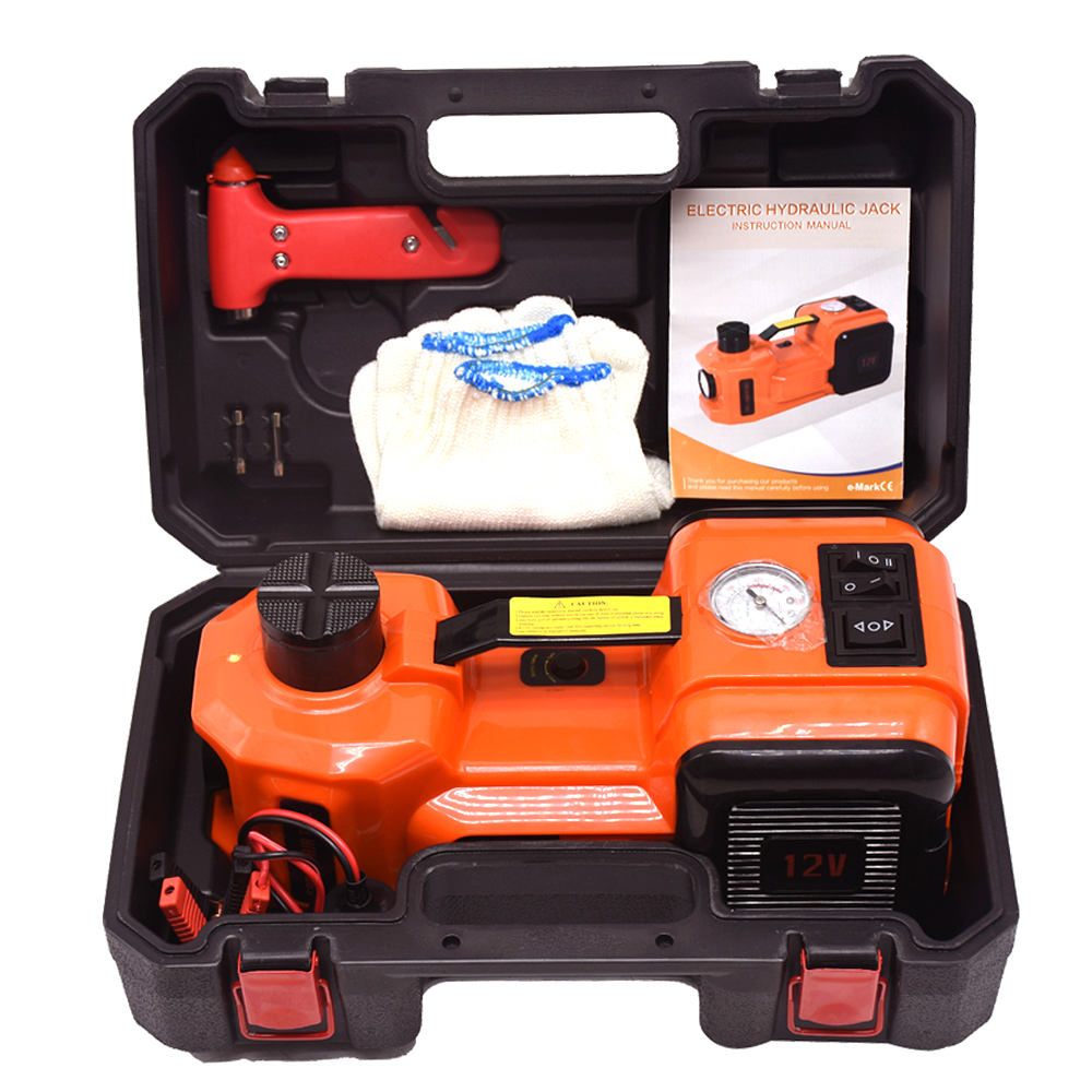 2019 Best portable lifting jacks DC 12V 5T Multi-functional electric hydraulic floor jack