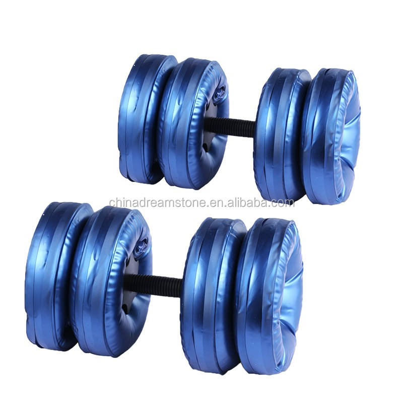 2019 Newest adjustable water filled dumbbells applicable to home ladies fitness equipment