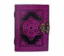 Celtic Book Of Shadow Leather Writing Note Book dairy Star Journal