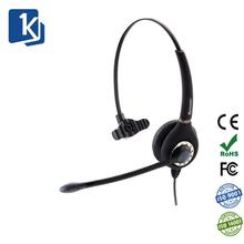 Wired Phone Headset with Noise Cancelling Microphone