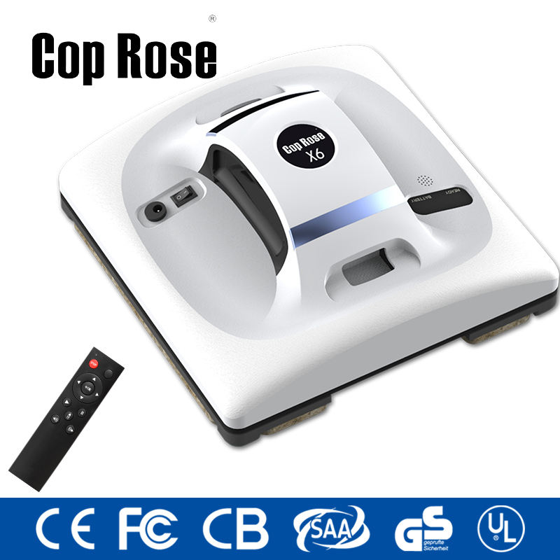 Polisi Rose X6 Kaca Cleaner, Pembersih Kaca, Robot Vacuum Cleaner India