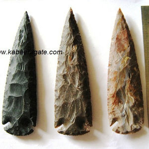 Wholesale Indian Arrowheads Sperehead Large Arrowheads Hand Knapped Arrowheads