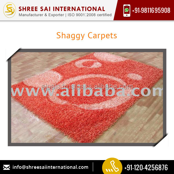 Top Quality Supplier of Elegant Design Shaggy Carpets for Wholesale Buyer