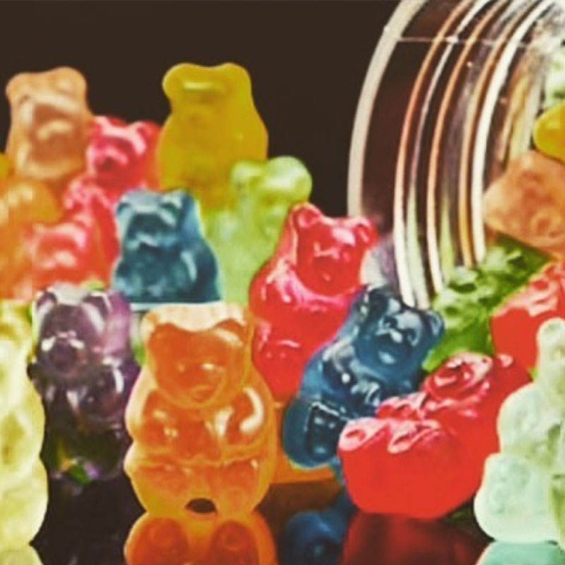Wholesale Premium CBD Gummy Bear THC Free 10mg 20mg 50mg