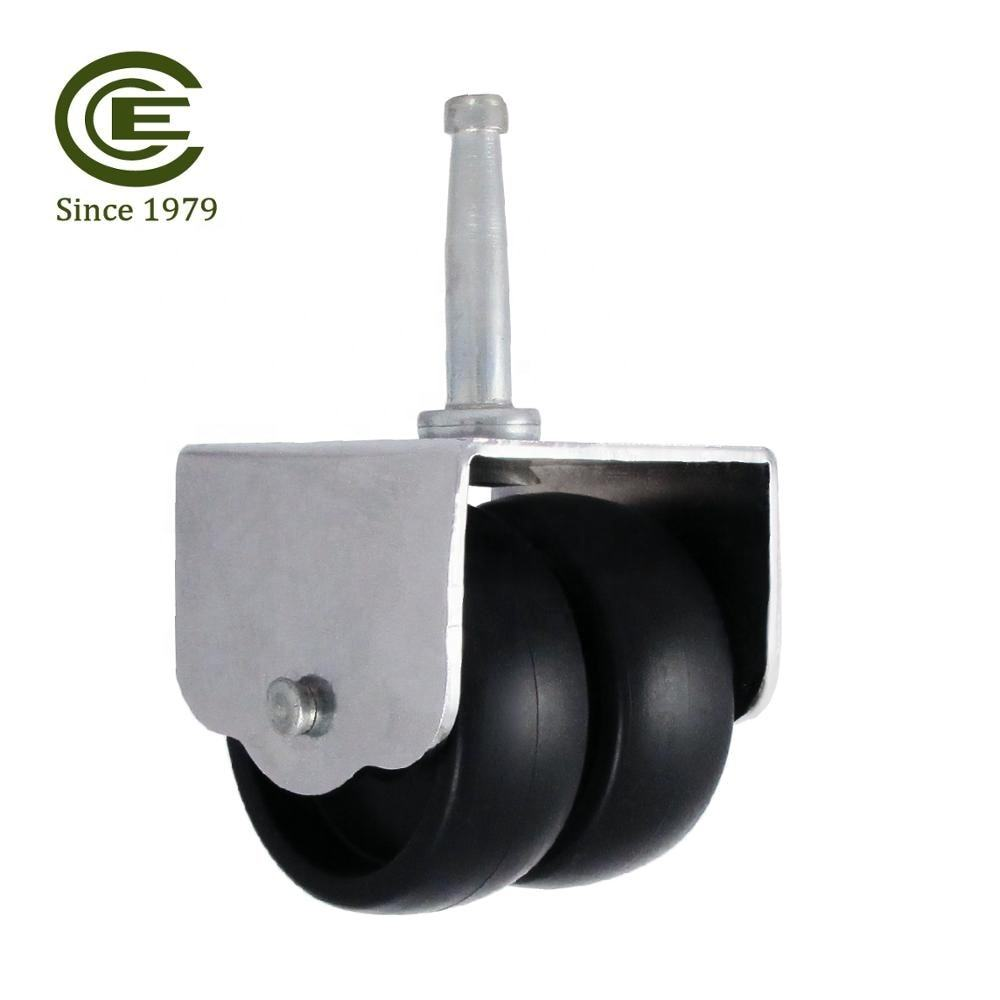 CCE Caster 2 Inch Neck Pin Stem Bed Caster Plastic Wheel