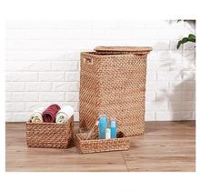Cheapest hamper Rattan Laundry Basket