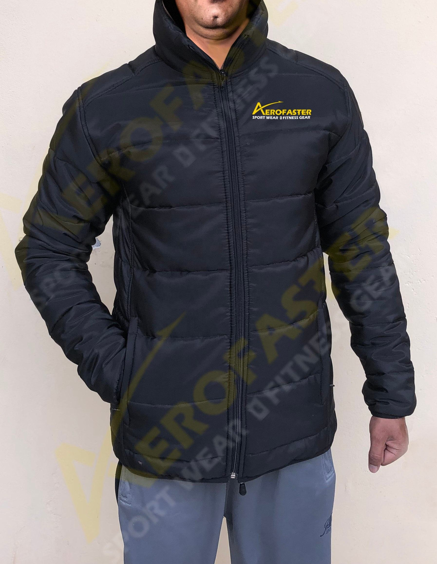 Men's Quilted Jacket Puffer Jacket Padded Jacket
