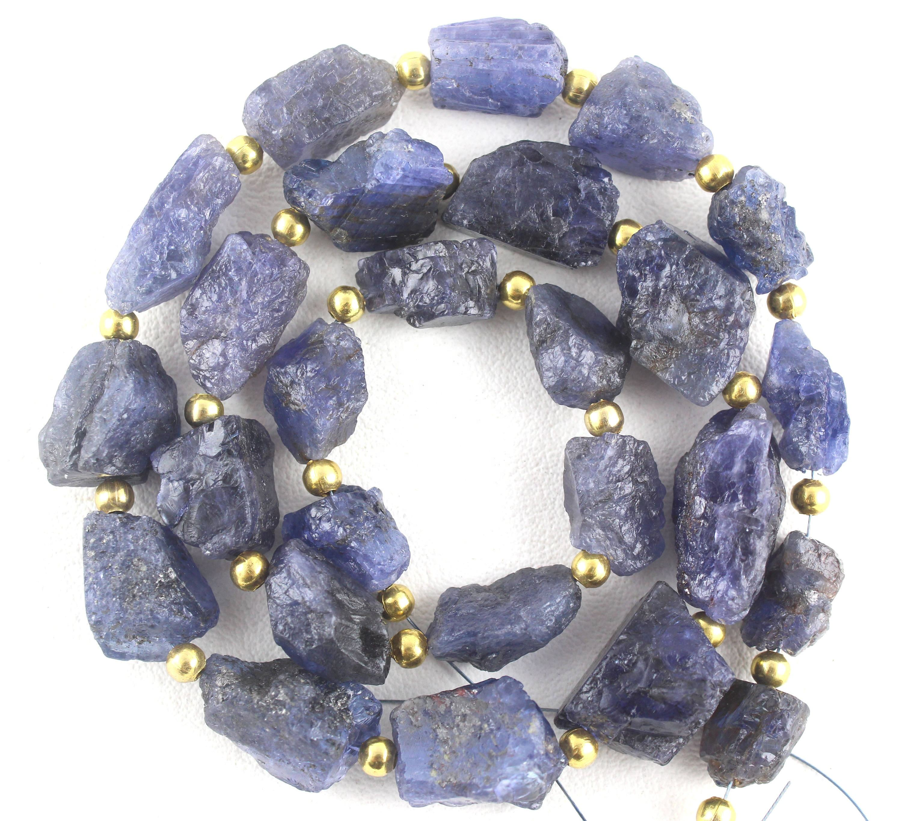 Best Quality Natural Blue Tanzanite Gemstone Untreated Raw
