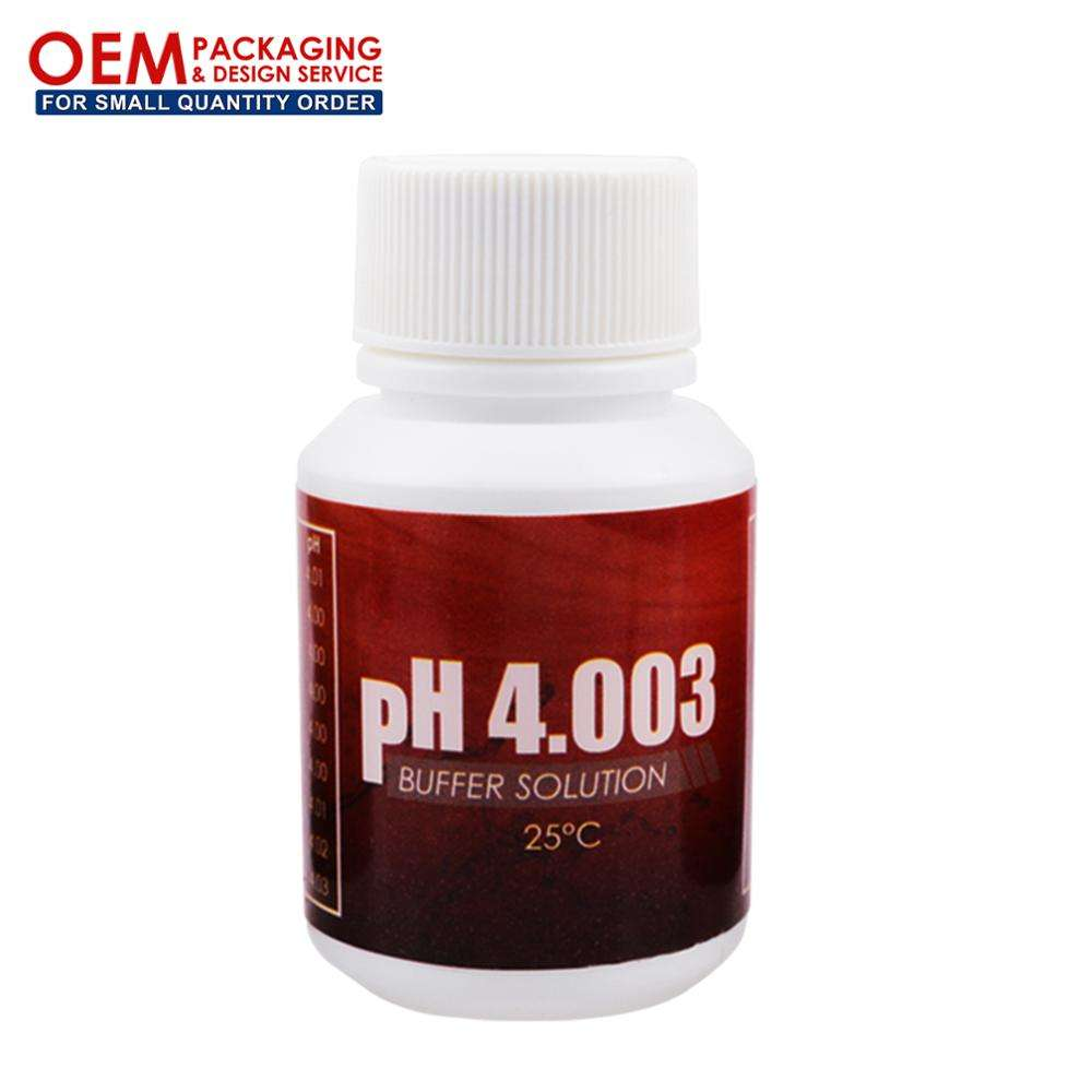 SOL-PH4.003 pH Buffer Solution Calibration Tool with +/- 0.01pH at 25degree Celsius Accuracy (OEM Packaging Available)