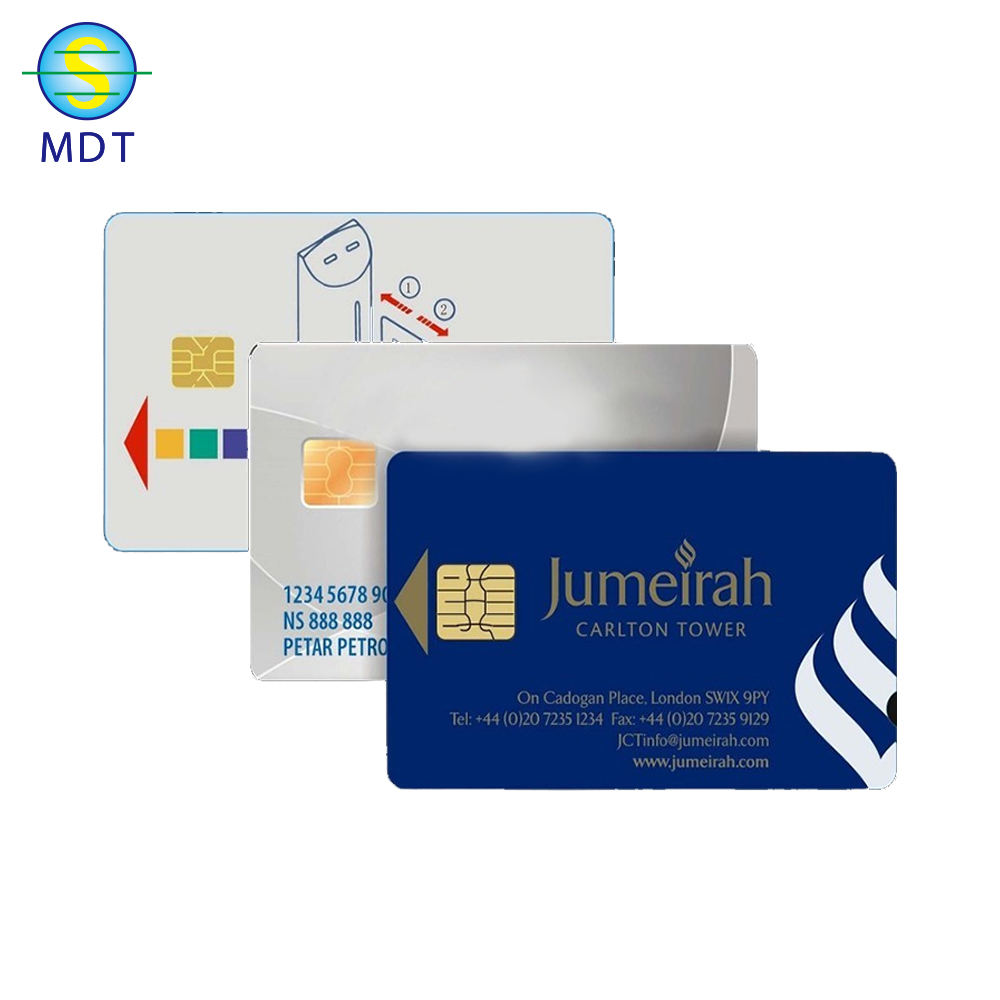 IC contact chip card