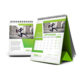 2020 New Design Desk Calendar With YO Binding, Folding Standing Desk Calendar