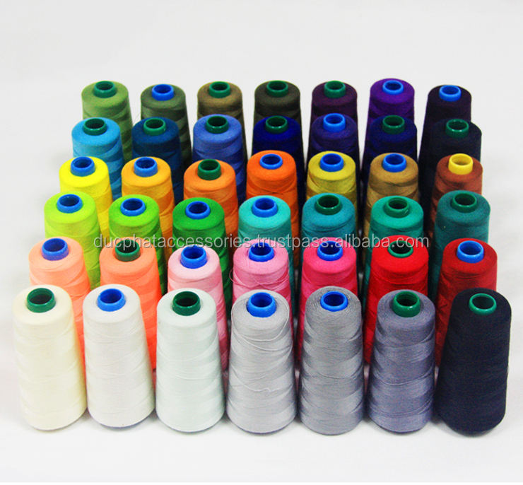 Good Quality and Cheap Price 100% Polyester Sewing Thread from Vietnam