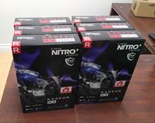 Factory Original 100% Genuine Sapphire Nitro Radeon RX 580 8GB GDDR5 Video Card GPU ETH Mining NEW