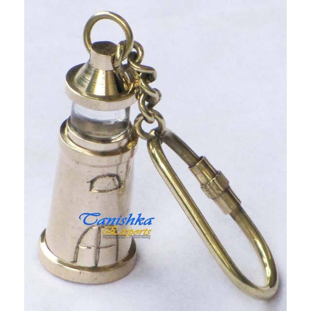 Light House Key Chain, Nautical Keychain