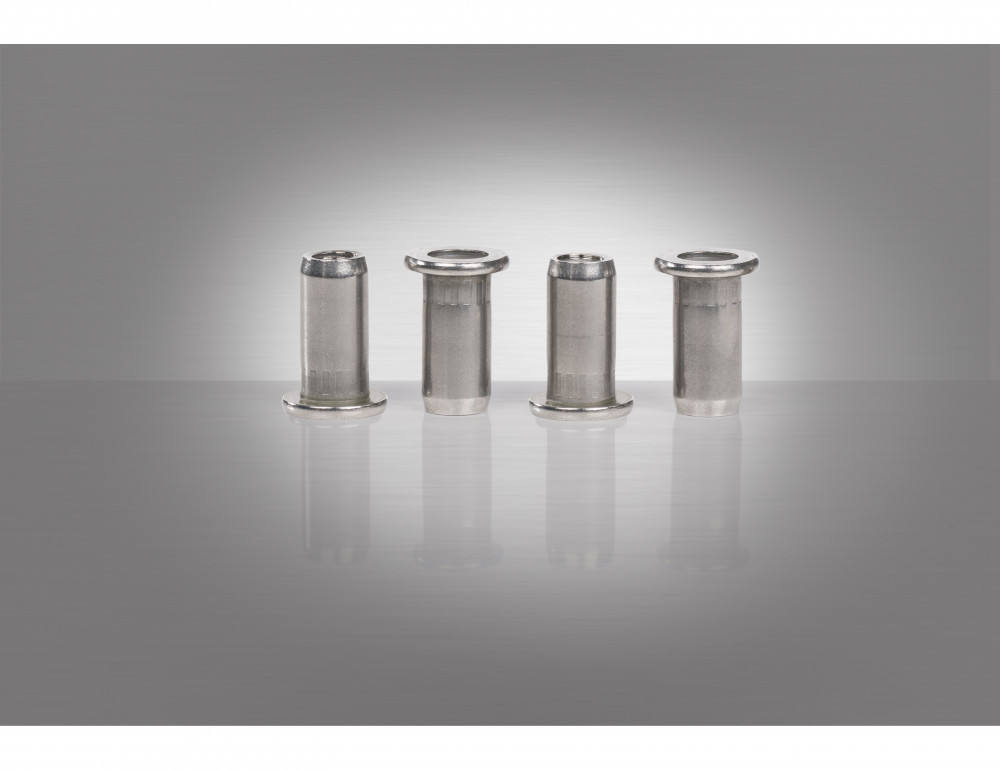 The GESIPA(R) blind rivet nuts for plastics and CFRP applications.
