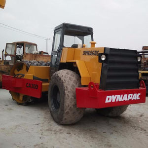 Used D ynapac CA30D Vibrating Soil Compactor Machine