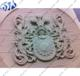 Pink Sandstone Antique Exterior Decorative Marble Wall Plaque