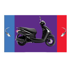 Top quality gas scooter 125cc motorcycle (Acruzov Deluxe) Model YSN 125
