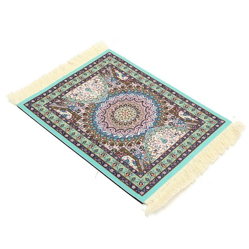 270 x 180mm and round Persian Style oriental Woven Rug Carpet Decor Mouse Pad