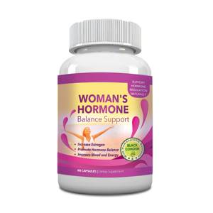 Totally Products Woman's Hormone Body Balance and Menopause Support 1375mg Natural Herbal Supplement