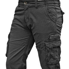 high quality Men's Cargo Pants Military Army Tactical Outdoor Casual Long Trousers