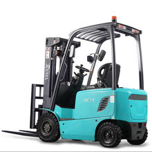Safe and reliable four wheel 2 ton 48v motor battery electric forklift