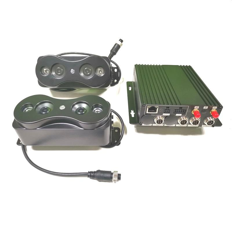 Mobile DVR with passenger counting system for bus