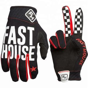 Motocross Fourway digital sublimated single layer syntactic leather pal dirt bike BMX Gloves