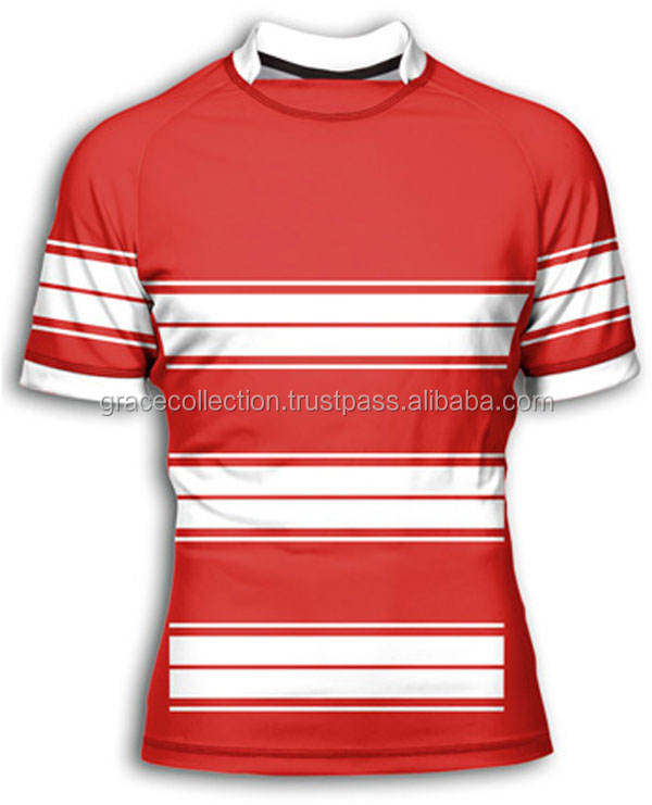 Wholesale rugby uniforms, sublimation cheap rugby jerseys