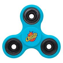 Fun Fidget Spinner - spins between thumb and middle finger, perfect for reducing stress and boredom & comes with your logo