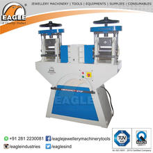 Eagle Premium Double Head Rolling Mill for Jewellers for Rolling Wire and Sheets of Gold and Silver