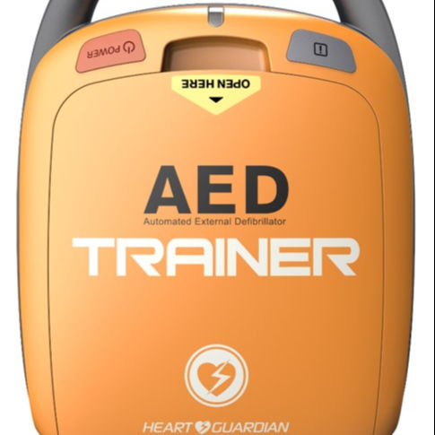 Trainer zweck AED, HR-501T, Cardiac arrest <span class=keywords><strong>CPR</strong></span> ausbildung erste hilfe Automated externe defibrillator notfall gerät