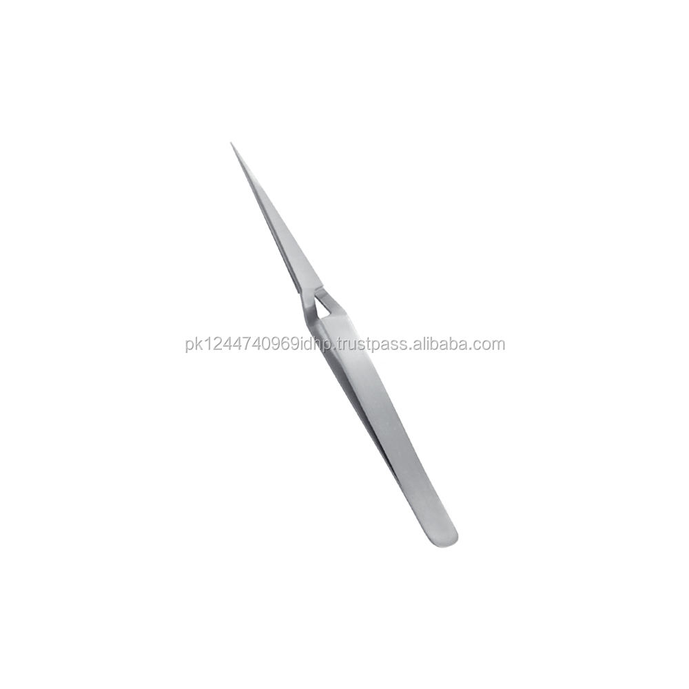 Stainless Steel X Type Eyelash Tweezers