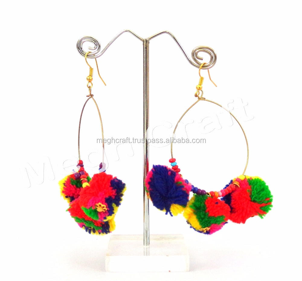 Earrings Indian Trendy Fashion Jewelry