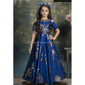 Kids Long Gown / Kids Long Evening Party Wear Gown / Kids Gown Evening Dress