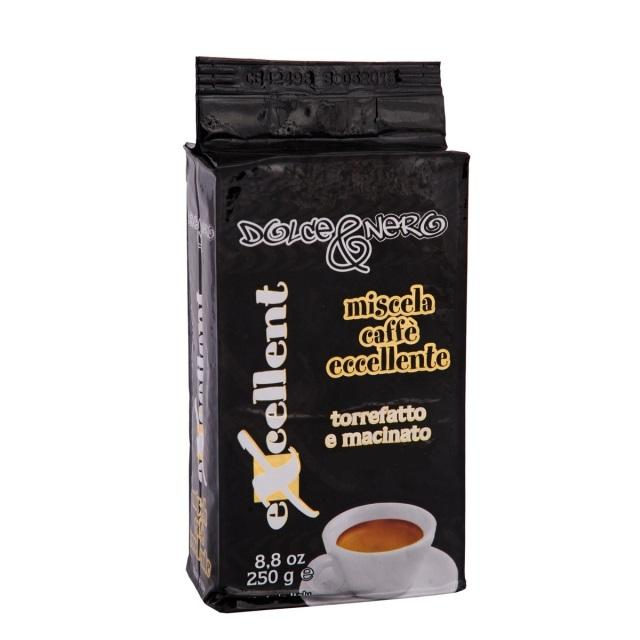 ITALIAN ESPRESSO GROUND COFFEE EXCELLENT 250 gr