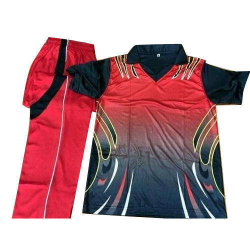 High quality sublimated custom cricket uniforms with brand logo and team